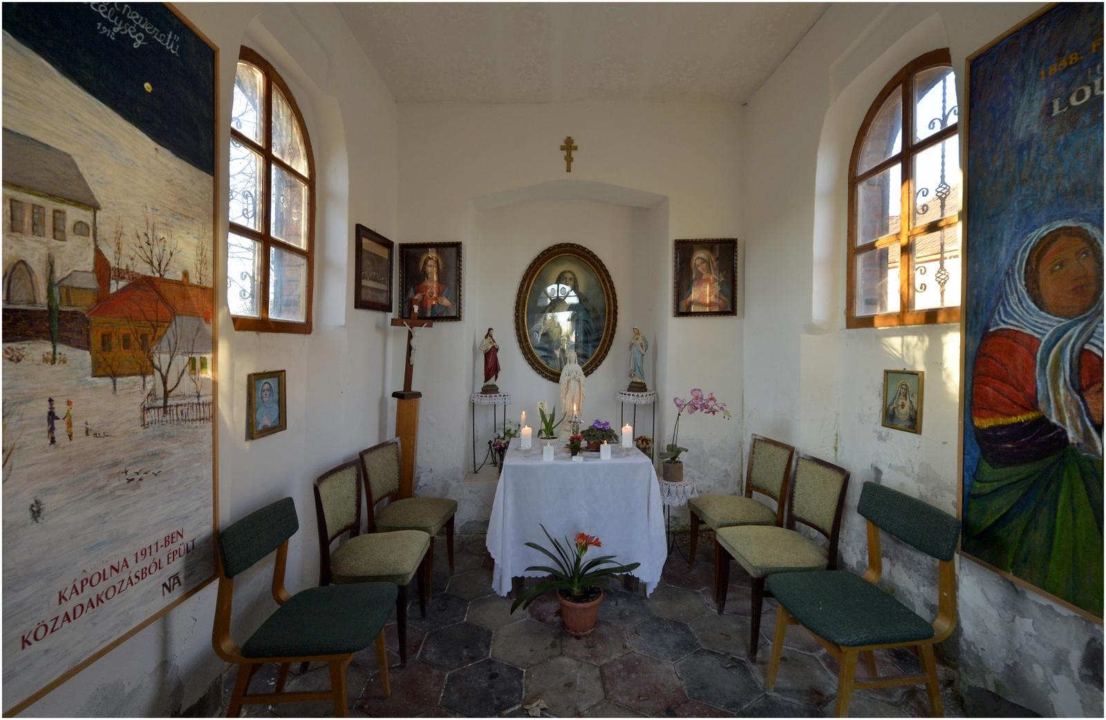 Kápolna belülről